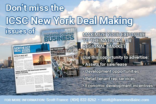 ICSC New York Dealmaking 2018 advertising